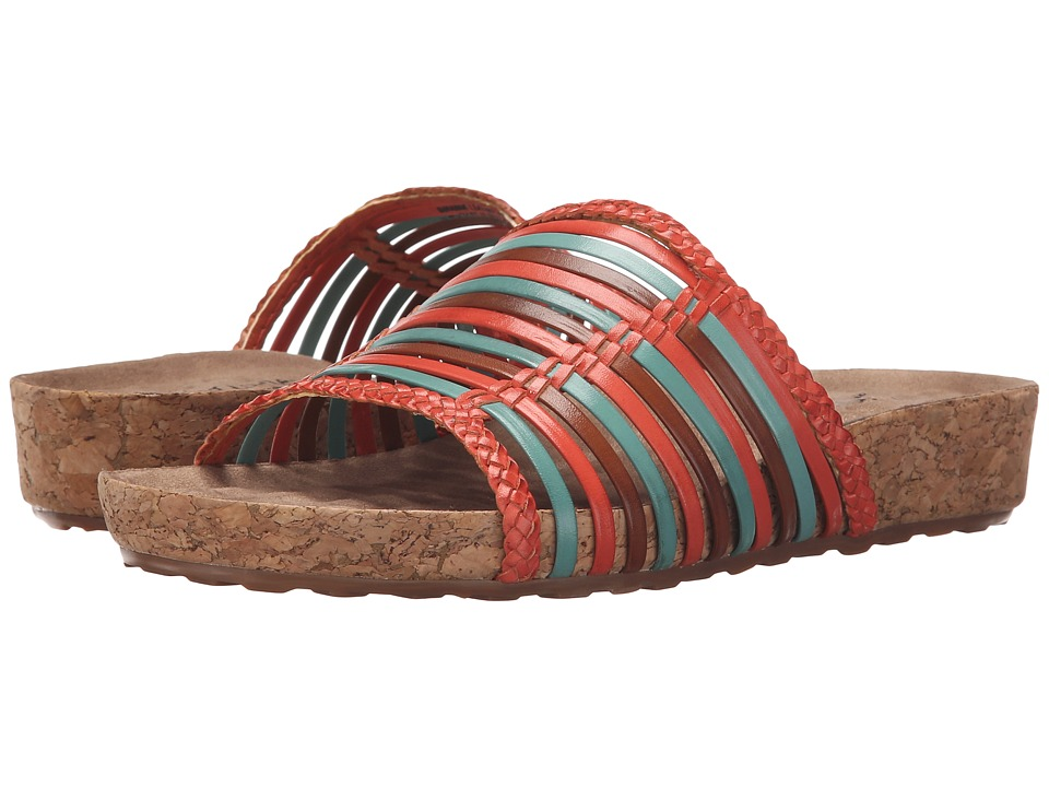 Walking Cradles - Piece (Bright Multi/Cork Wrap) Women's Sandals