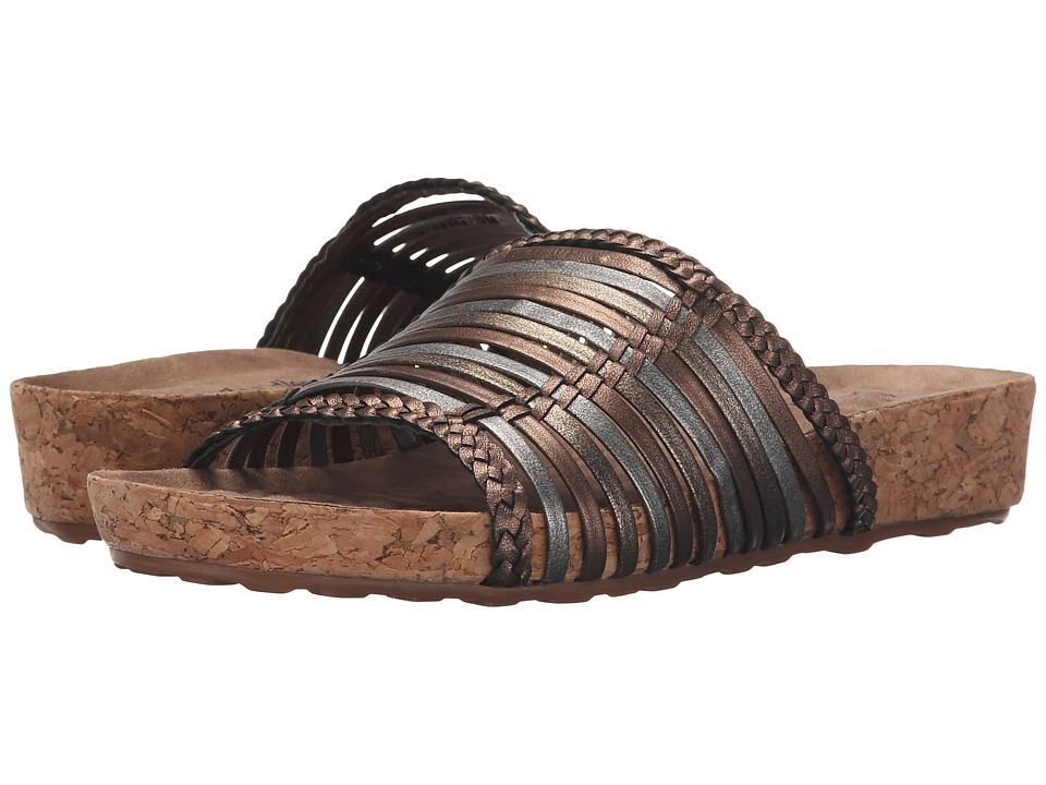 Walking Cradles - Piece (Metallic Multi/Cork Wrap) Women's Sandals