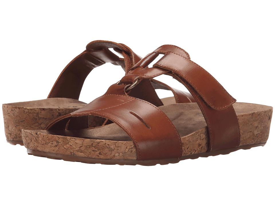 Walking Cradles - Penny (Luggage Soft Antanado/Cork Wrap) Women's Sandals