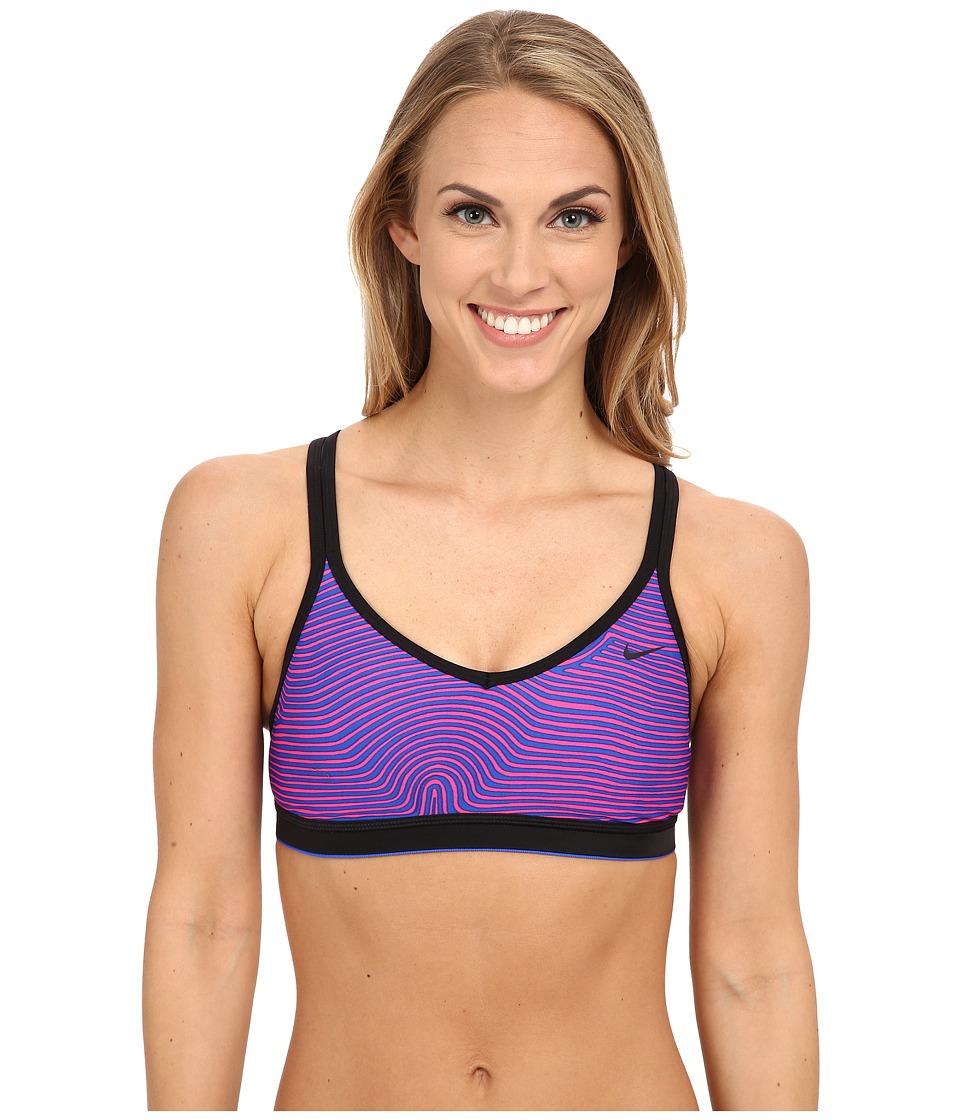 Nike - Flow Crossback Sport Bra (Hyper Cobalt) Women's Swimwear