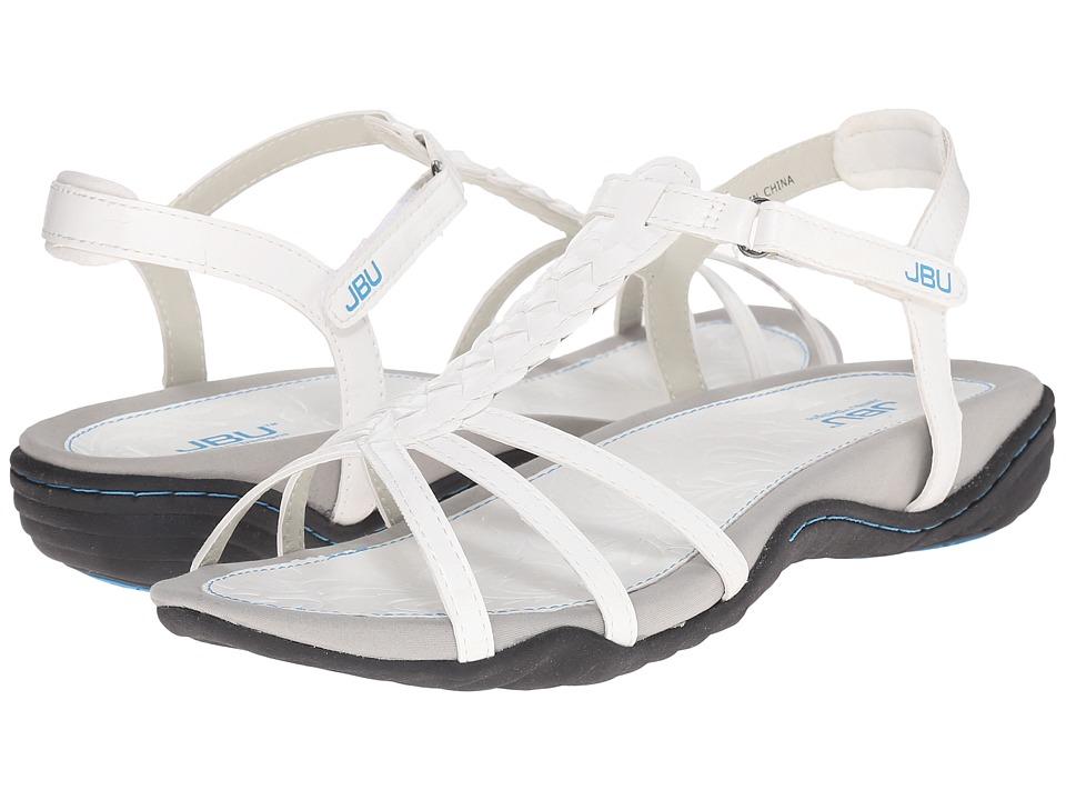 JBU - Azalea (White) Women's Sandals