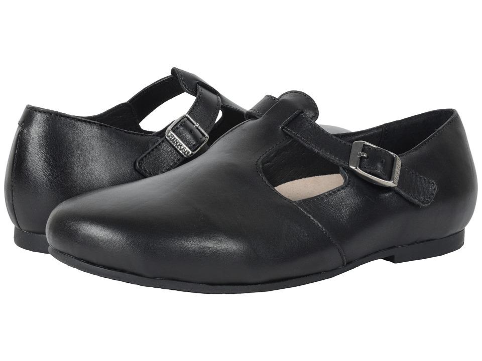 Birkenstock Tickel (Black Leather) Women