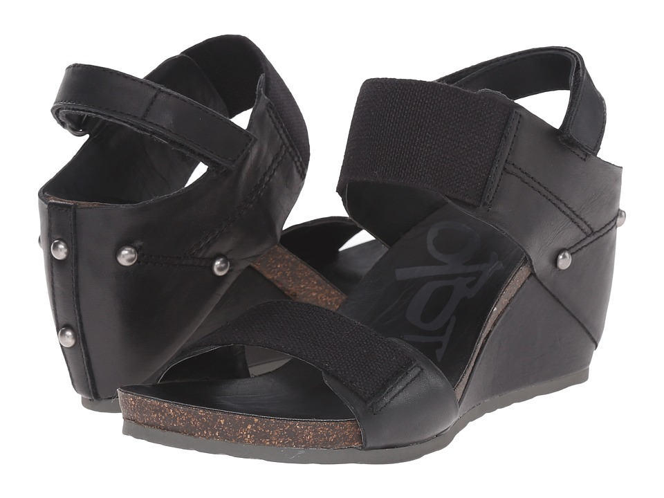 OTBT - Trailblazer (Black) Women's Wedge Shoes