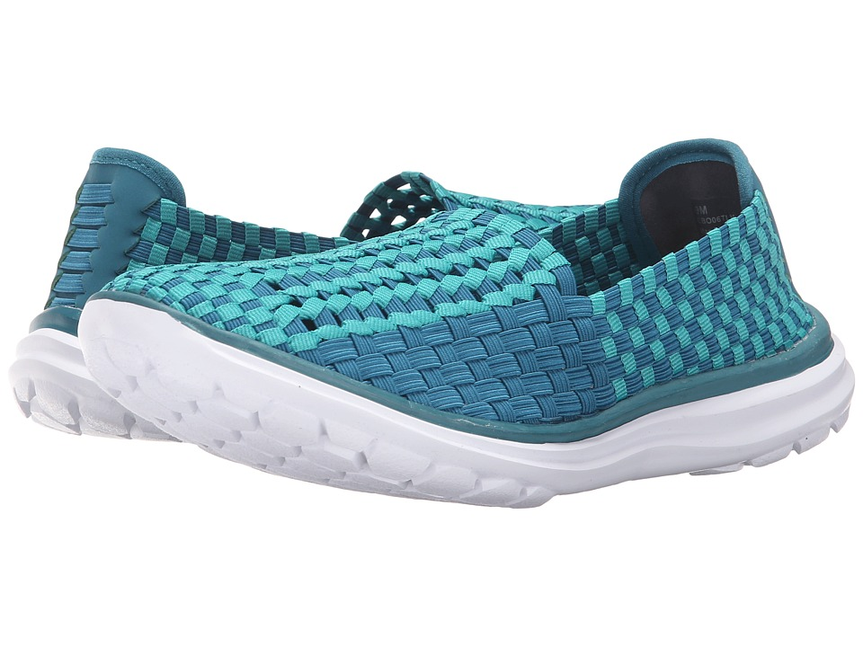 Rockport Cobb Hill Collection - Cobb Hill Wise (Teal Multi) Women's Slip on Shoes
