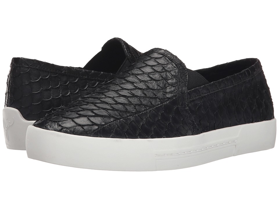 Joie - Huxley (Black Sea Skin) Women's Slip on Shoes