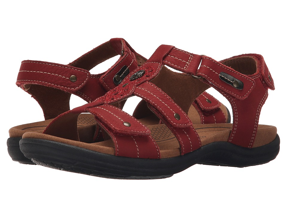 Rockport Cobb Hill Collection - Cobb Hill REVsoothe (Red) Women's Sandals