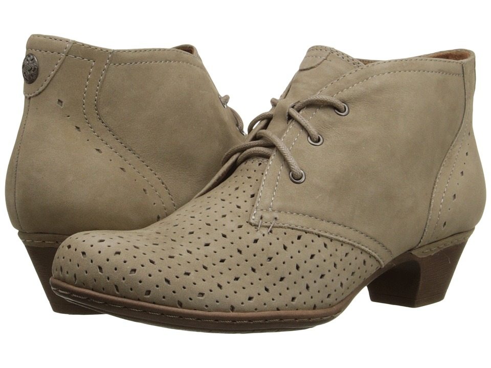 Rockport Cobb Hill Collection - Cobb Hill Aria (Khaki Perforated) Women's Lace-up Boots