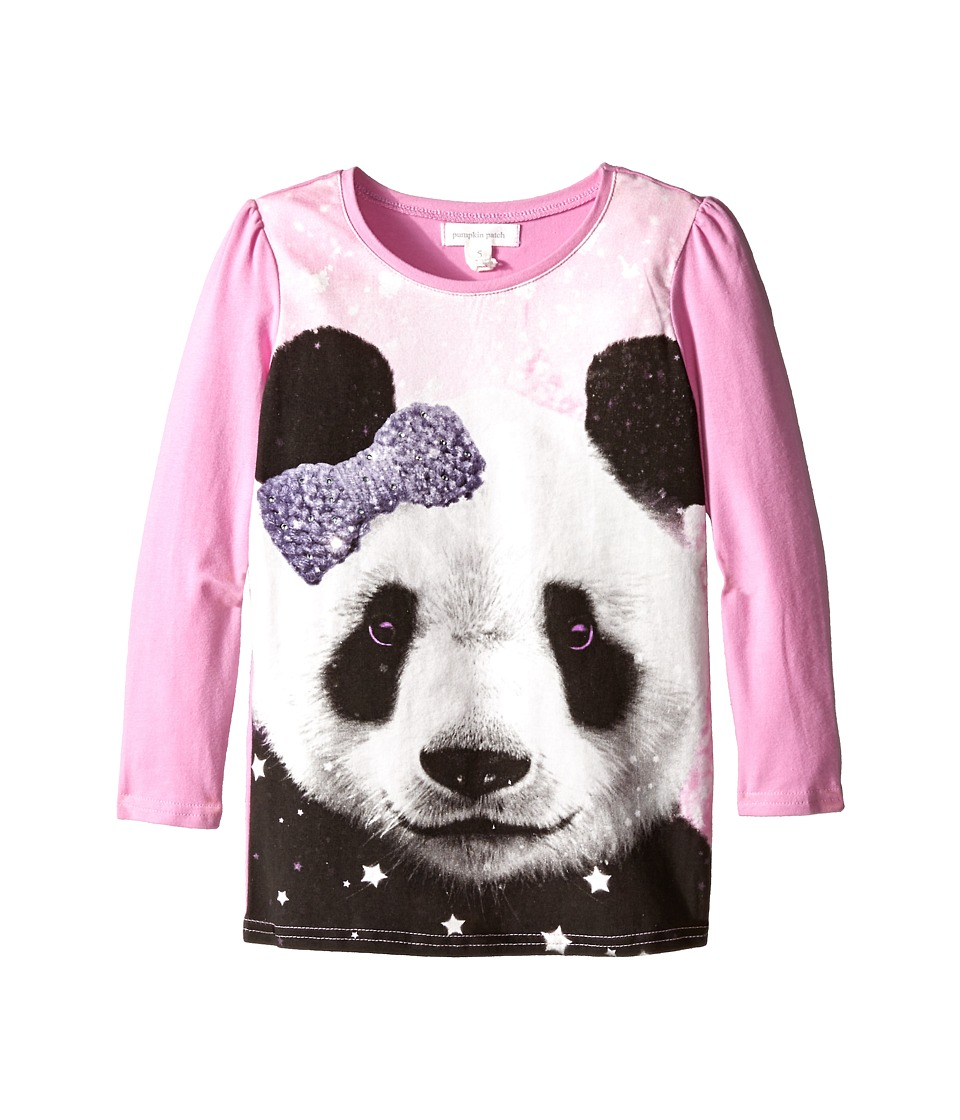 Pumpkin Patch Kids - Finding Anastasia Panda Graphic Tee (Little Kids/Big Kids) (Sherbert) Girl's T Shirt
