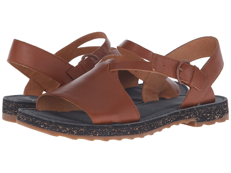 Camper - PimPom - 22519 (Medium Brown) Women's Sandals