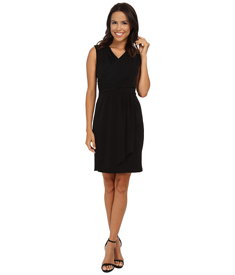 Calvin Klein - Wrap Dress (Black) Women