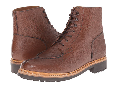 Grenson - Grover (Dark Brown Country Grain) Men's Lace-up Boots