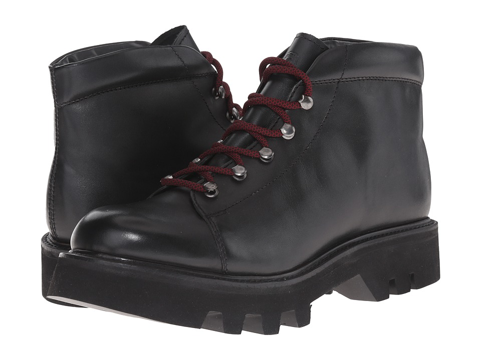 Grenson - Edgar (Black Calf) Men's Lace-up Boots