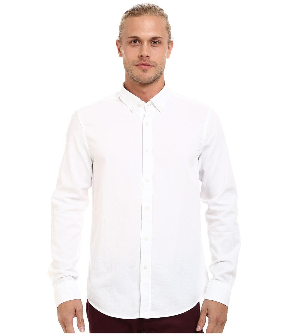 Mavi Jeans - Fitted Basic Shirt (White) Men