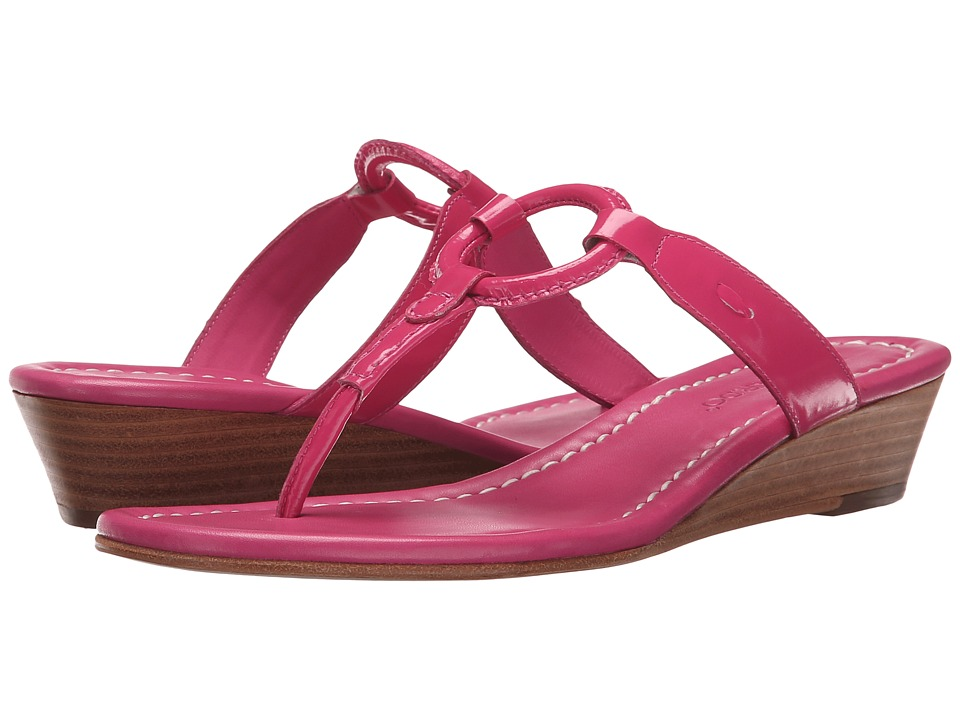Bernardo - Matrix Wedge (Hotpink) Women's Wedge Shoes