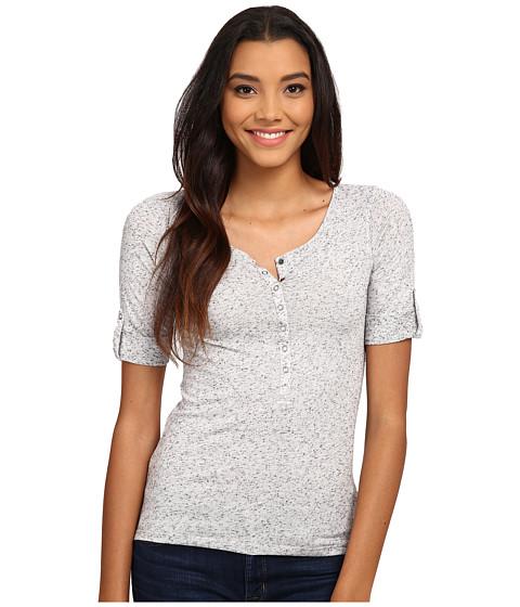 Mavi Jeans - Basic Shirt with Snaps (Marsmallow) Women's Clothing
