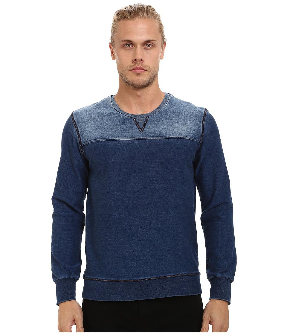 Mavi Jeans - Indigo Sweatshirt (Indigo) Men's Sweatshirt
