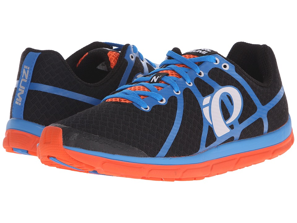 Pearl Izumi - Em Road N 1 v2 (Black/Fountain Blue) Men's Running Shoes