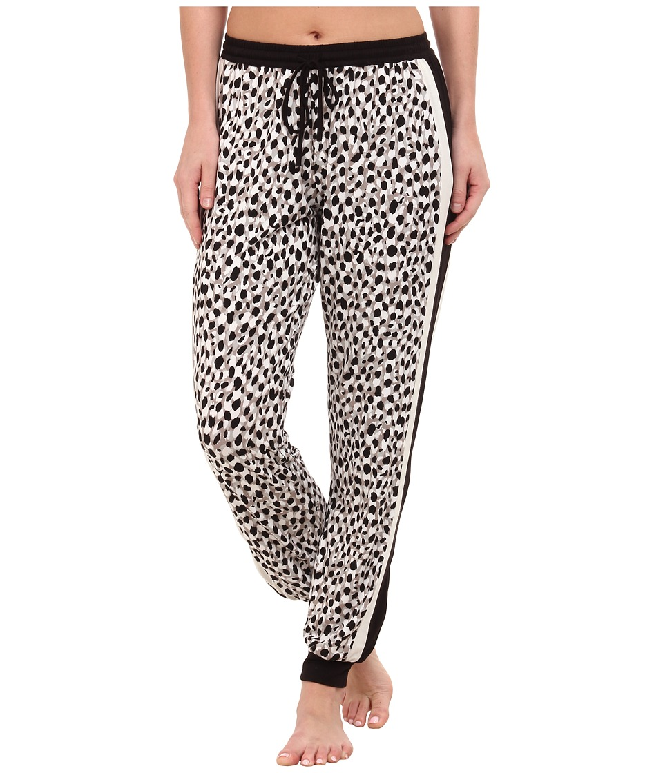DKNY - Group Pants (Winter White Animal) Women's Pajama