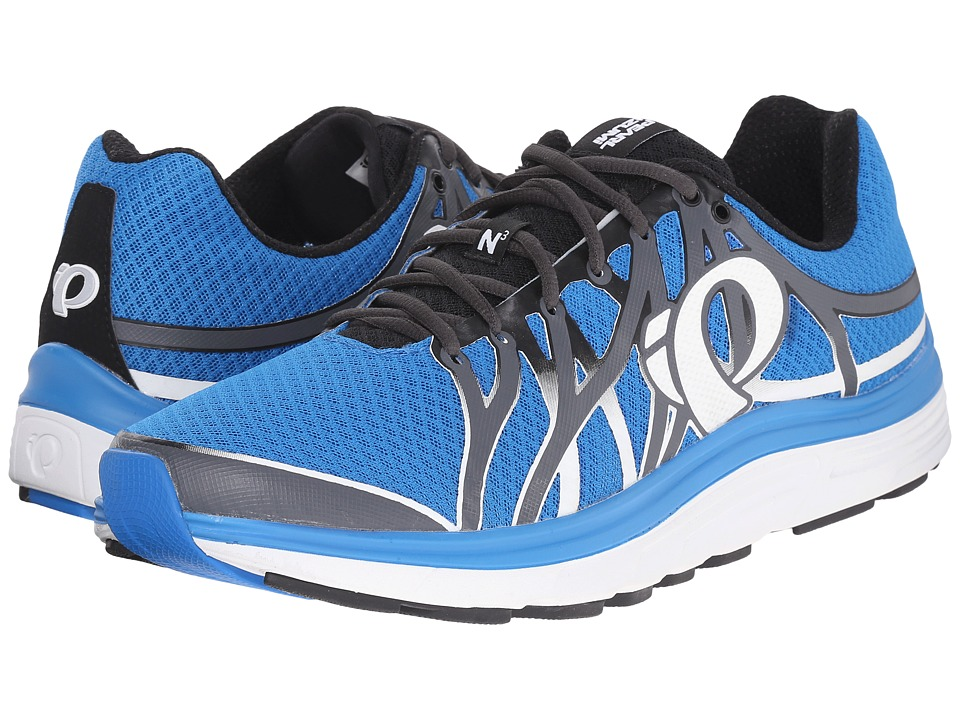 Pearl Izumi - EM Road N 3 (Shadow Grey/Fountain Blue) Men's Running Shoes