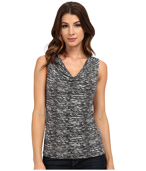 Calvin Klein - Print Cowl Neck Top (Static) Women's Clothing