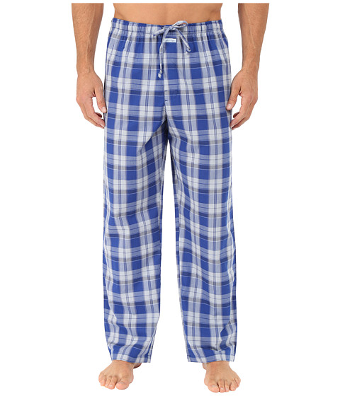 Calvin Klein Underwear - Key Item Pants (Alex Plaid/Blue Monument) Men