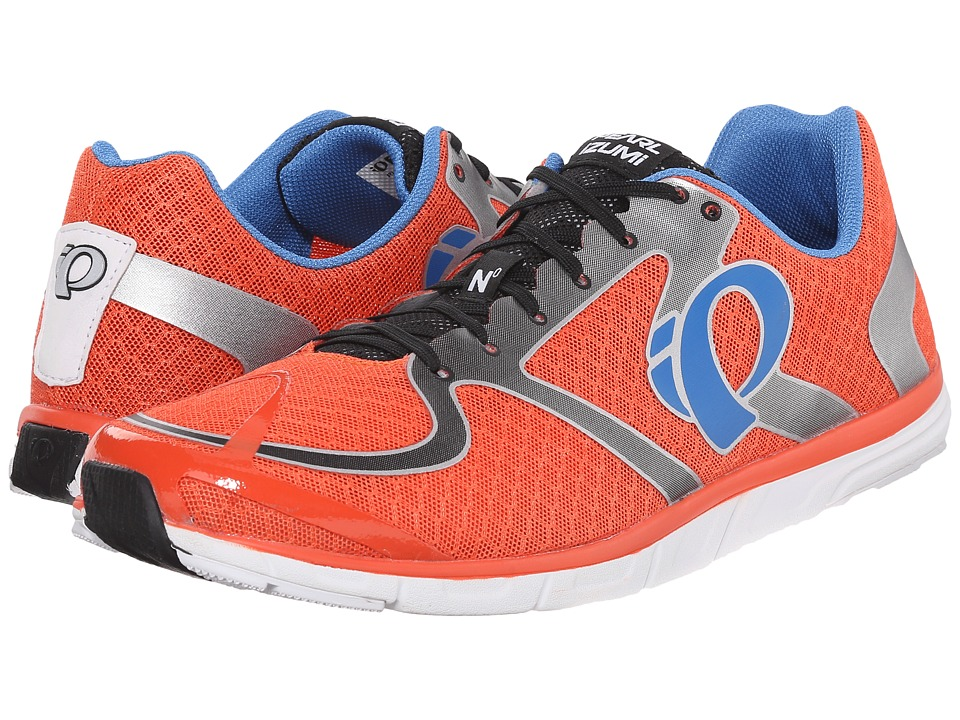 Pearl Izumi - Em Road N 0 v2 (Red Orange/White) Men's Running Shoes