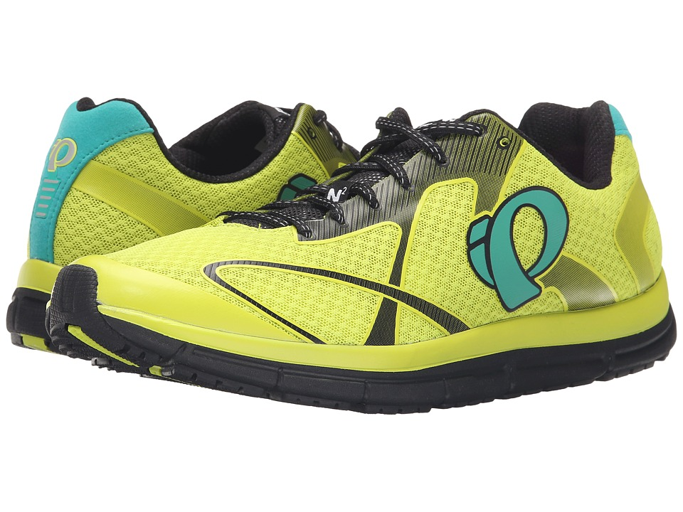 Pearl Izumi - EM Road N2 v3 (Lime Punch/Black) Men's Running Shoes