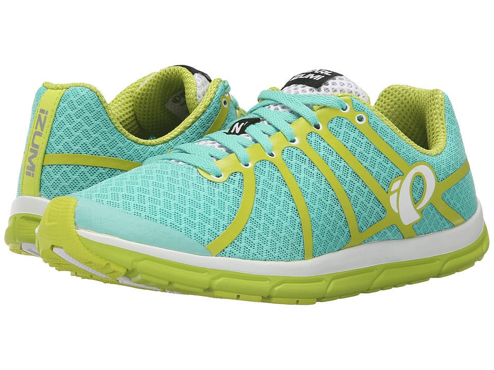 Pearl Izumi - Em Road N 1 v2 (Aqua Mint/Lime Punch) Women's Running Shoes
