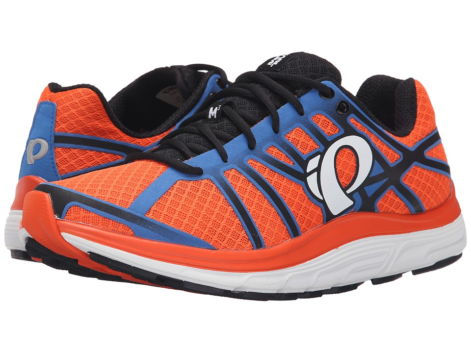 Pearl Izumi - EM Road M 3 v2 (Red Orange/White) Men's Running Shoes