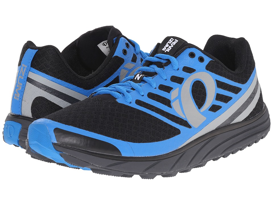 Pearl Izumi - EM Trail N 1 v2 (Black/Fountain Blue) Men's Running Shoes