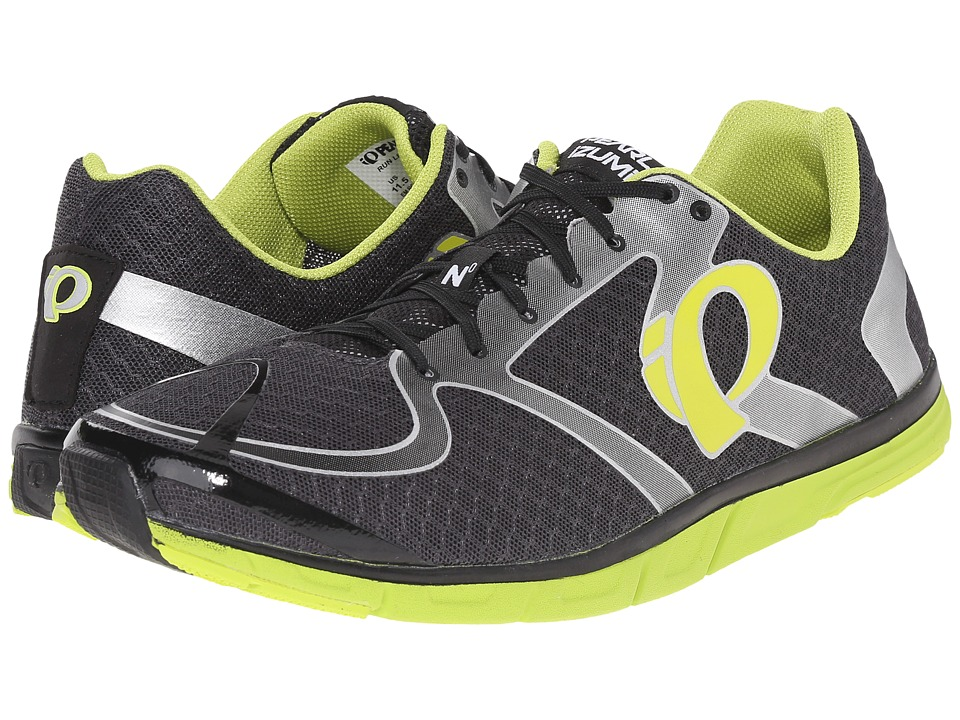 Pearl Izumi - Em Road N 0 v2 (Shadow Grey/Lime Punch) Men's Running Shoes