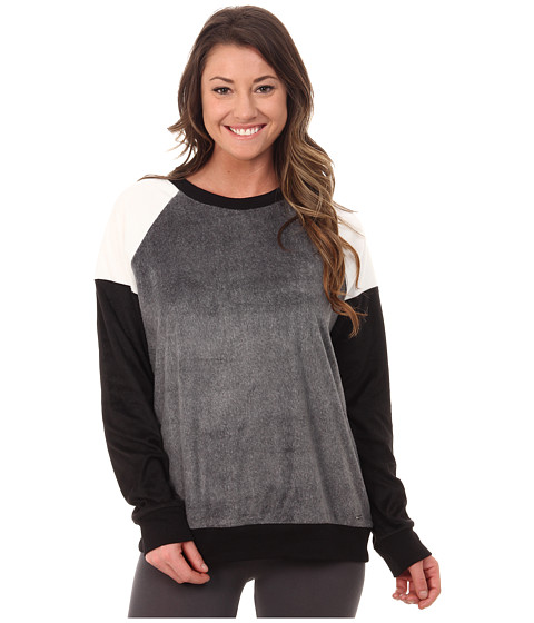 DKNY - A New Chapter Long Sleeve Top (Charcoal Heather) Women