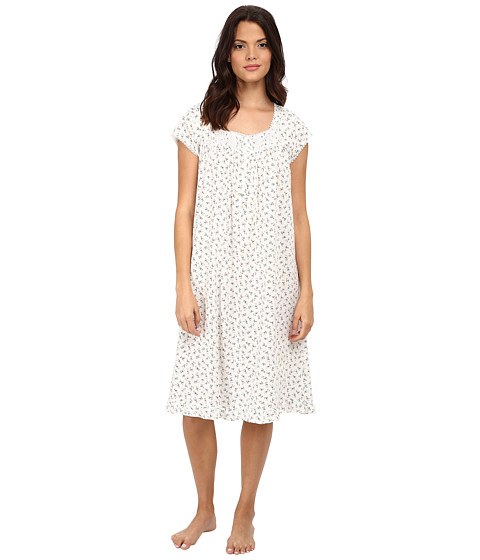 Eileen West - Waltz Nightgown (Cream/Ditsy) Women's Pajama