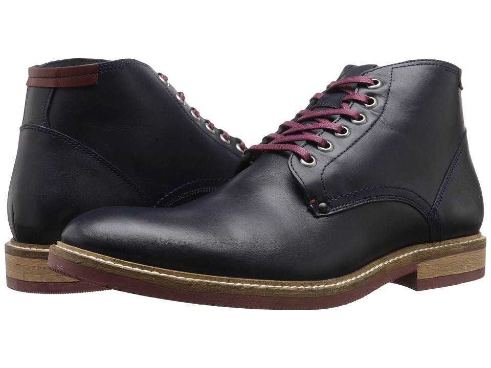 Steve Madden - Bronsen (Navy Leather) Men