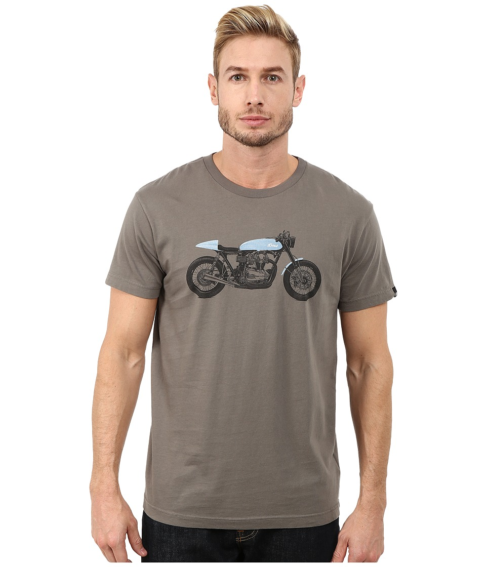 Deus Ex Machina - Grigio Tee (Leaf) Men's T Shirt