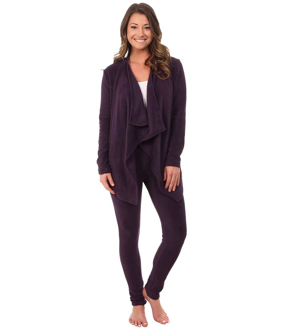 DKNY - Group Long Sleeve Cozy and Leggings Set (Nightshade) Women