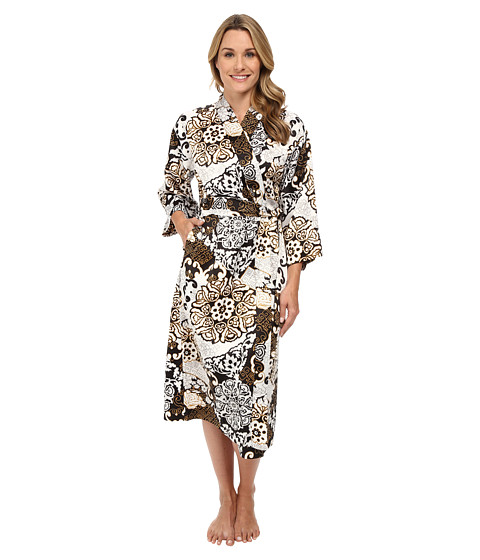N by Natori - Blossom Shade Robe (Black) Women