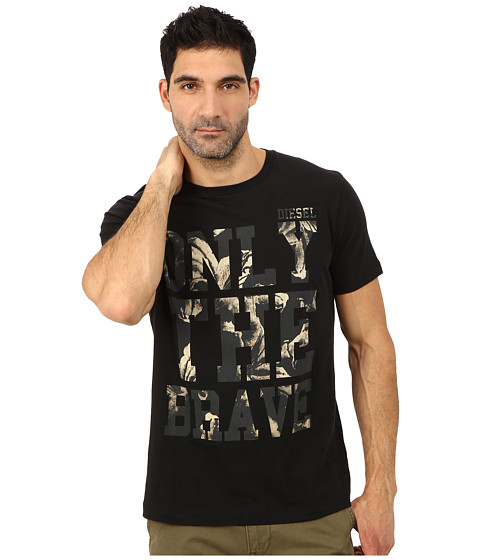 Diesel - Burt Tee (Black) Men's T Shirt