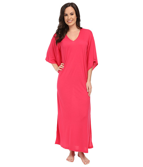N by Natori - Congo Caftan (Hot Pink) Women
