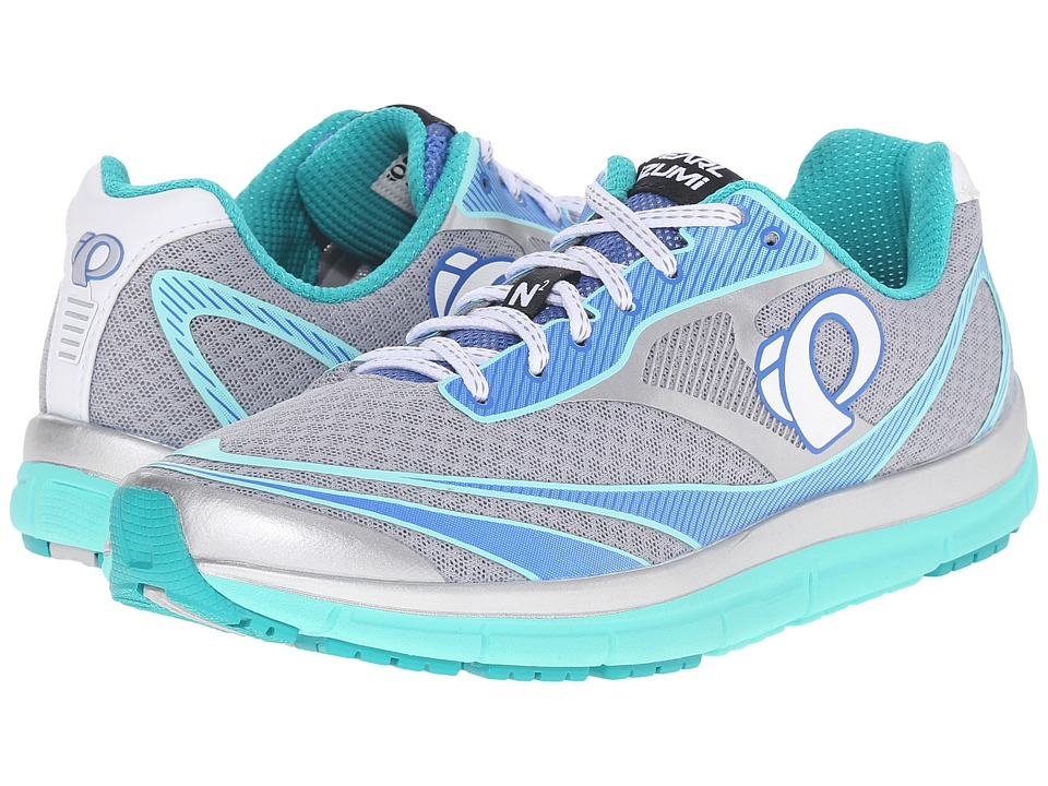 Pearl Izumi - EM Road N2 v3 (Silver/Aqua Mint) Women's Running Shoes