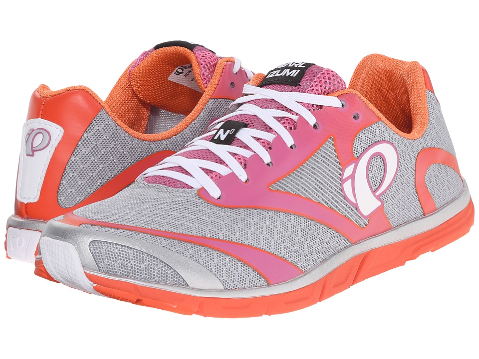 Pearl Izumi - Em Road N 0 v2 (Silver/Clementine) Women's Running Shoes