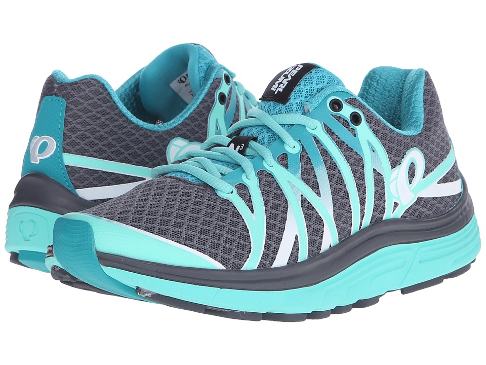 Pearl Izumi - EM Road N 3 (Shadow Grey/Aqua Mint) Women's Running Shoes