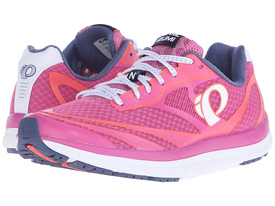 Pearl Izumi - EM Road N2 v3 (Ibis Rose/White) Women's Running Shoes