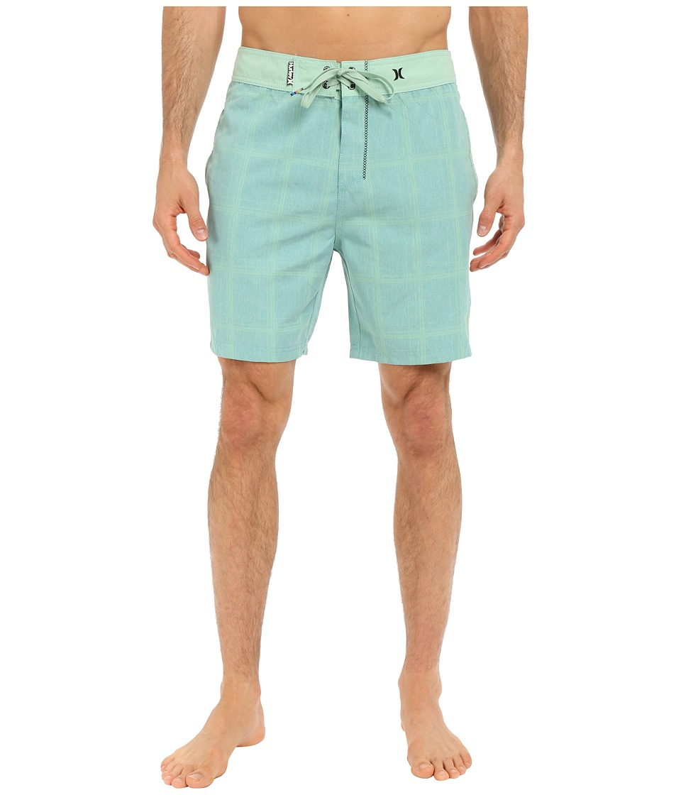 Hurley - Puerto Rico Burnout 19 Boardshorts (Diffused Jade) Men's Swimwear