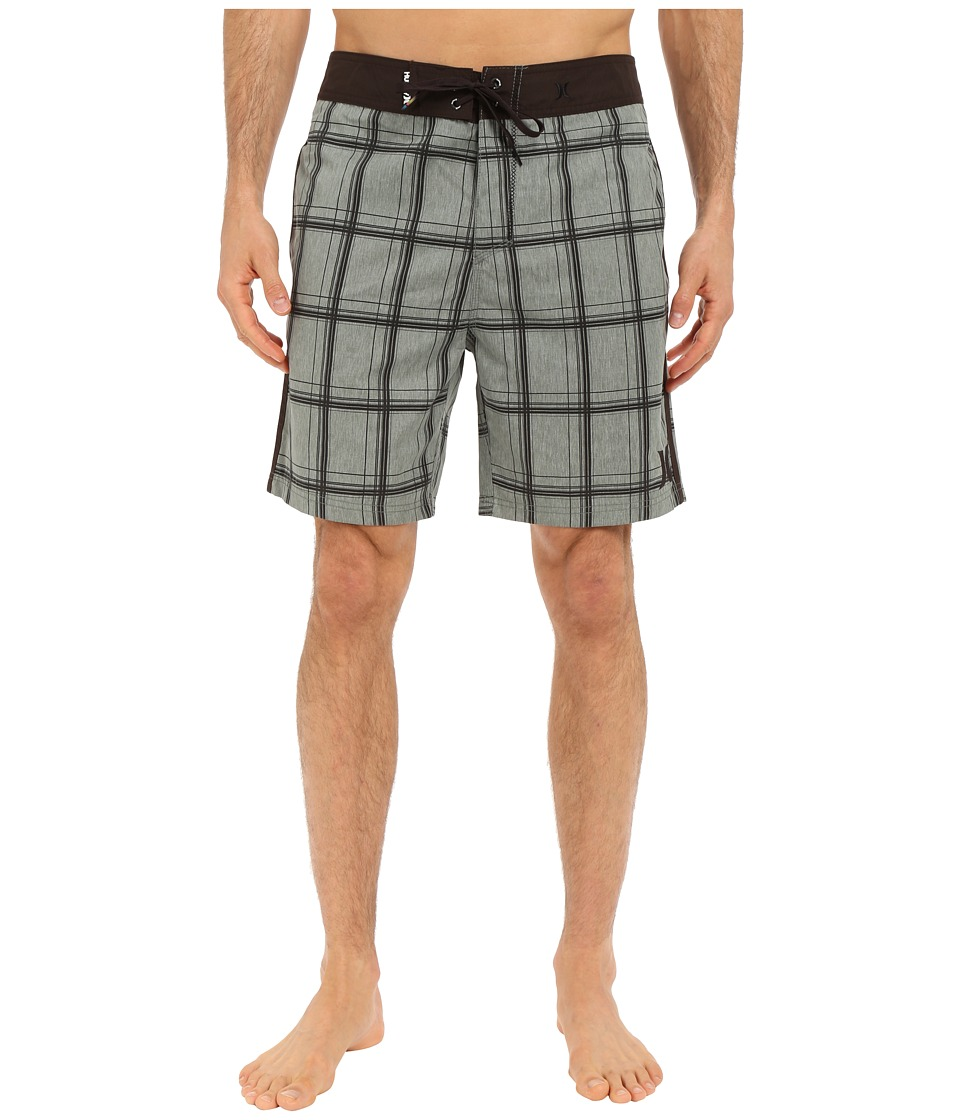 Hurley - Puerto Rico Burnout 19 Boardshorts (Deepest Green) Men's Swimwear