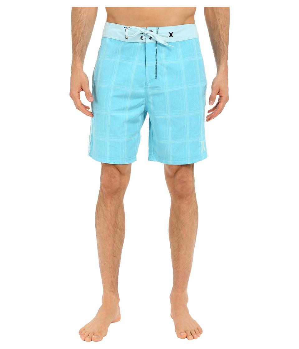 Hurley - Puerto Rico Burnout 19 Boardshorts (Beta Blue) Men's Swimwear