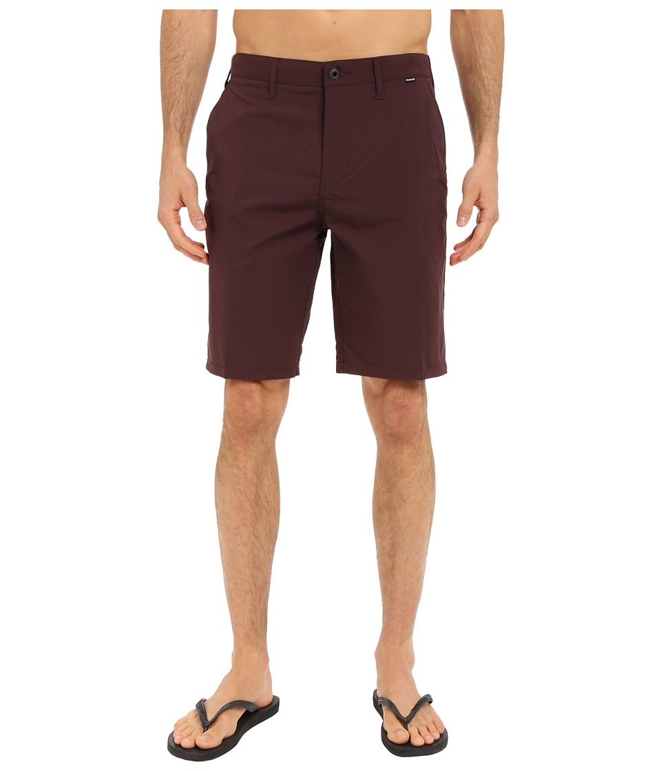 Hurley - Dri-FIT Chino Walkshort (Mahogany) Men's Shorts