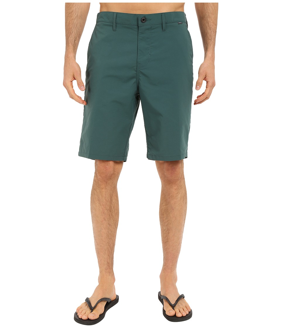 Hurley - Dri-FIT Chino Walkshort (Dark Emerald) Men's Shorts