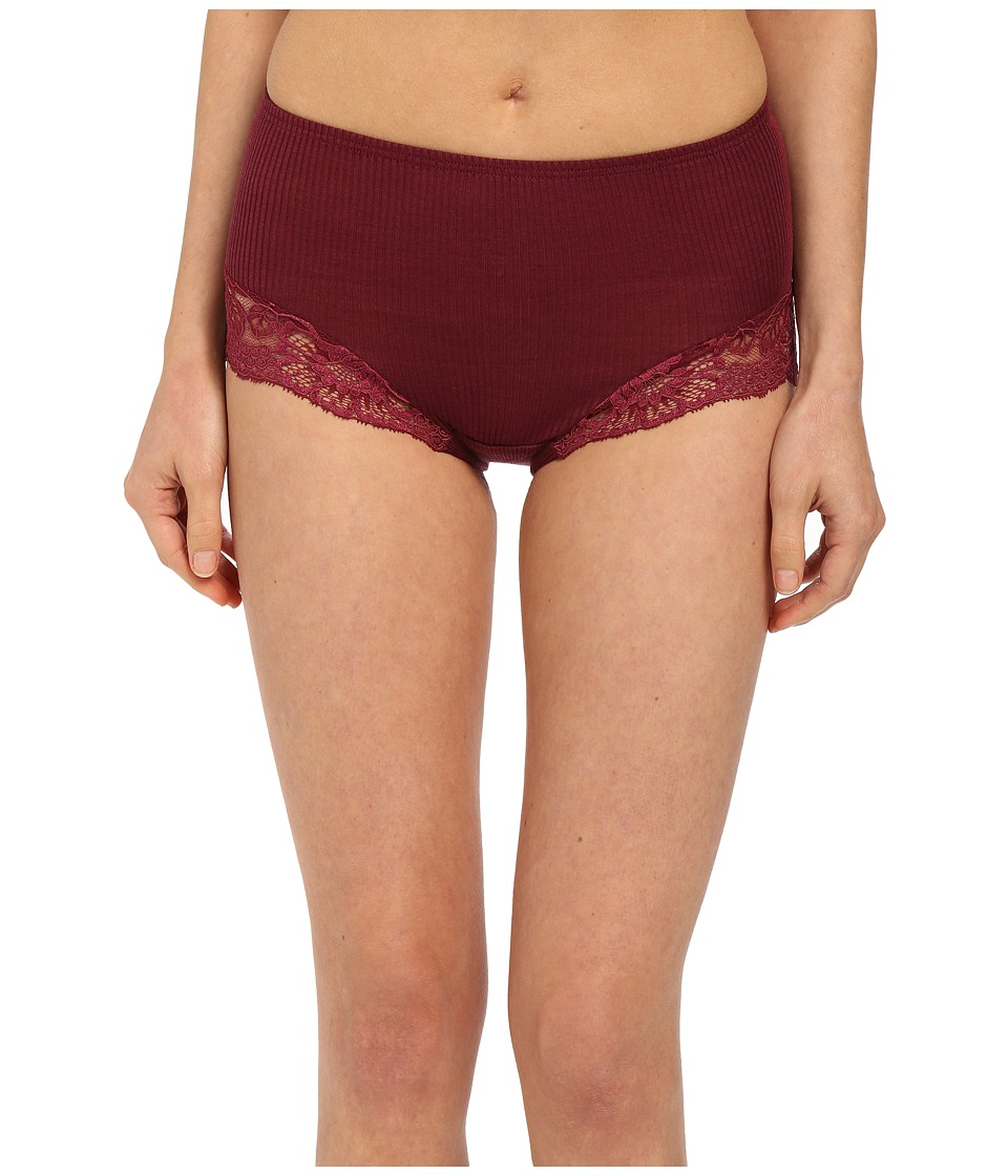Hanro - Constance Full Brief (Wine) Women