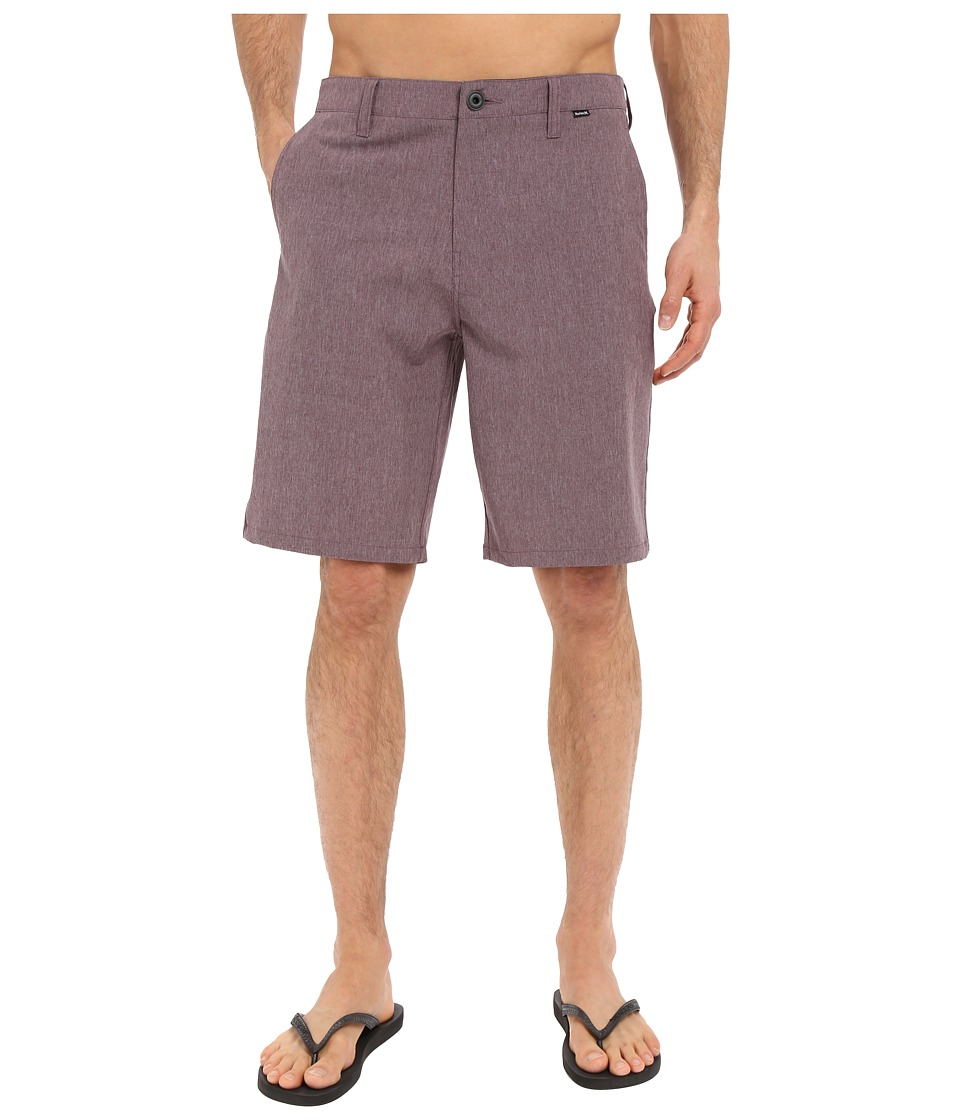 Hurley - Phantom Boardwalk Short (Mahogany) Men's Shorts